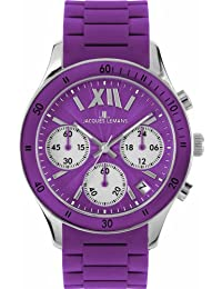 Jacques Lemans Sports Damen-Armbanduhr Rome Sports 1-1587K
