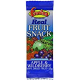 Frutina Real Fruit Refill Apple and Wildberry Bars 15 g (Pack of 24)
