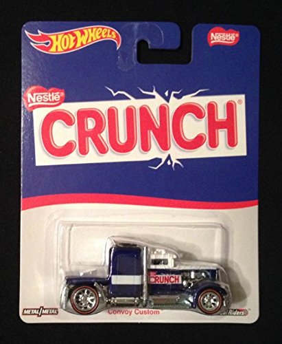 Hot Wheels 2016 Pop Culture Nestle Crunch Convoy Custom Semi Truck Real Riders