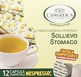 L'Angelica Tisana Sollievo Stomaco in Capsule - Pacco da 5 x 18 g