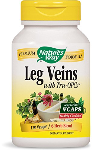 Nature's Way Leg Veins with Tru-OPCs™, 120 VCaps Test