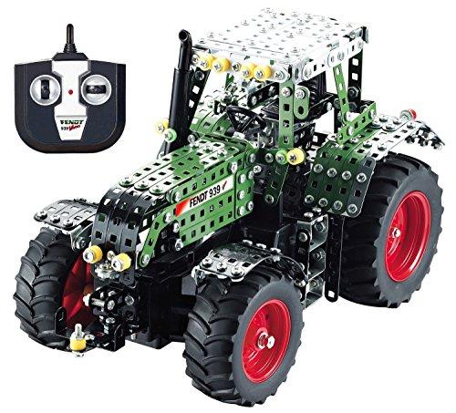 RC Auto kaufen Traktor Bild 4: Tronico 10070 - Metallbaukasten Traktor Fendt 939 Vario mit Fernsteuerung, Profi Serie, Maßstab 1:16, 790-teilig, grün*