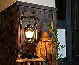 ZZZ-Kerosinlampe Beleuchtung Retro Vintage Petroleumlampe Schlafzimmerstudie Persönlichkeit Eisenstange chinesische antike Kerosinlampe Lampe kreativ