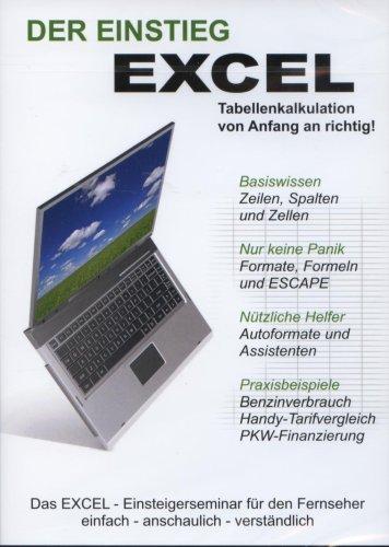 Excel - der Einstieg - Die Microsoft EXCEL Schulung - DVD
