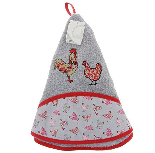 strofinaccio-signora-gallina-e-signor-gallo-grigio-mouse