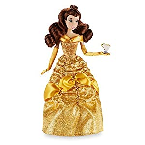"""Disney Belle Classic Doll holding Chip 12"""" Beauty and the Beast"""