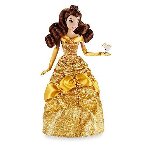 Offizielle Disney Schönheit u. Das Biest 33cm Belle klassische Puppe mit (Kleider Disney Figur)