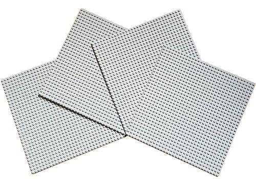 4-piezas-x-large-baseplate-32x32-pernos-25cm-x-25cm-gris-claro-estndar-puntos-ladrillos-minifigures-