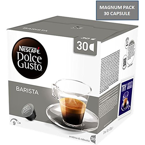 90 Cialde Capsule Nescafe' Dolce Gusto Caffe' Espresso Barista Magnum Originali