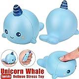 VENMO 8cm Unicorn Wal Cartoon duftenden Squishy Charme langsam steigenden Squeeze Spielzeug Charme...