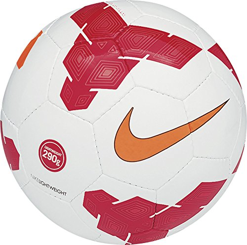 Nike Fußball Lightweight 290 G Balón, Niños, Blanco / Rojo / Naranja (White / Red / Orange), 5