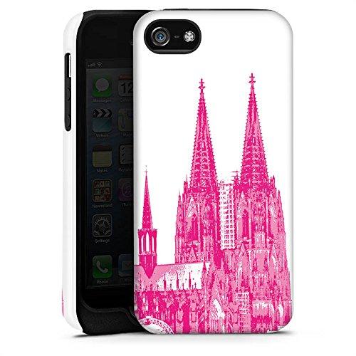 Apple iPhone X Silikon Hülle Case Schutzhülle Köln Dom Kirche Kölner Dom Tough Case matt
