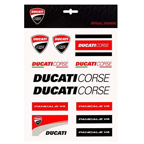 Whybee 2019 Ducati Corse Racing MotoGP Aufkleber, groß, offizielles Lizenzprodukt