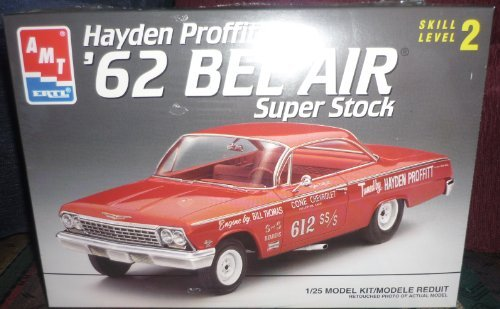 AMT 62 Bel Air Super Stock Hayden Proffitt Model Kit by AMT Ertl - Stock Model Air