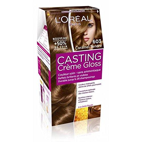 L'Oréal Paris Casting Crème Gloss Coloration Ton Sur Ton Sans Ammoniaque 6.03 Caramel