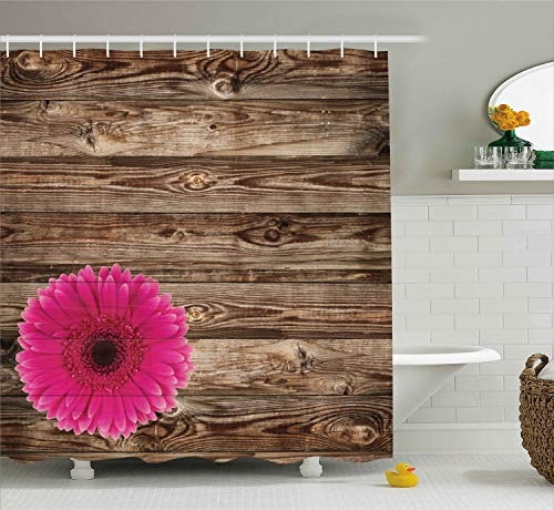 Ambesonne Polyester-Decor Kollektion-Badezimmer Dusche Vorhang 69