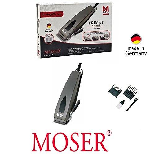 Rotschopf24 Edition: Leistungsstarker Moser Haarschneider für perfekten Schnitt! Längenverstellung! Made in Germany. 0179