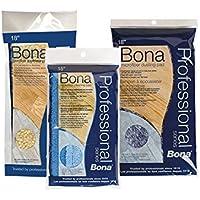 Bona Pro Series ax000344318Mikrofaser Reinigung Pad, tri-lingual, grün, 1