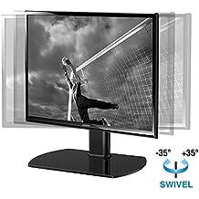 Fitueyes Soporte Giratorio para TV Pedestal de Televisión LCD LED entre 19 a 37 pulgadas TT104001GB