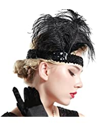 Amazon Fr Accessoire Annee 20 Coiffure Et Soins Des Cheveux