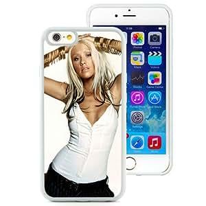 6 case,Unique Design Christina Aguilera Bracelets Jewerly Blonde Pants White iPhone 6 4.7 inch TPU case cover