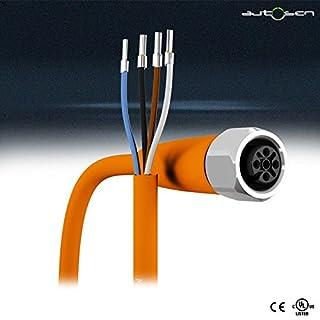 AA031 - Sensorleitung 2m PVC M12 4Pol