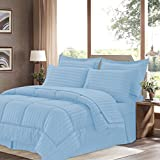 Best Sweet Home Collection Sheet and Pillowcase Sets - Sweet Home Collection Comforter/Sheet Bed Skirt and Sham Review