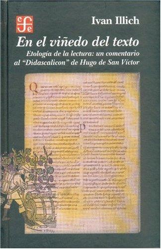 En el viñedo del texto. Etología de la lectura: un comentario al