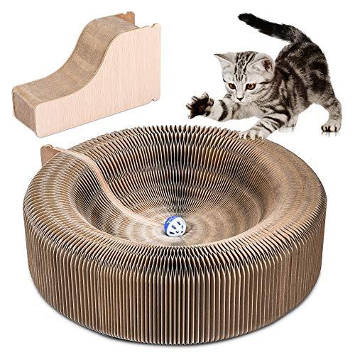 YOUTHINK Fontanelle per Gatto Distributore Fontanella d'Acqua per Dell'animale Domestico, 1.6L Ciotola dell'Acqua Automatica per Gatti, Piccolo Cani(Cat Toy)