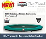Bergtoys Trampolin Favorit Sport Series, InGround, 380cm
