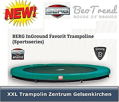 Trampolin Favorit InGround Ø380cm BERG toys