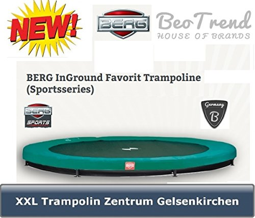 Berg 35.12.47.02 Trampolin Favorit InGround, Durchmesser 380 cm
