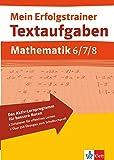 Mein Erfolgstrainer - Textaufgaben Mathematik 6.-8 - Klasse - Hans Bergmann, Karola Bergmann, Uwe Bergmann