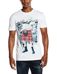 Antony Morato Girocollo Stampa Kilt, T-Shirt Homme