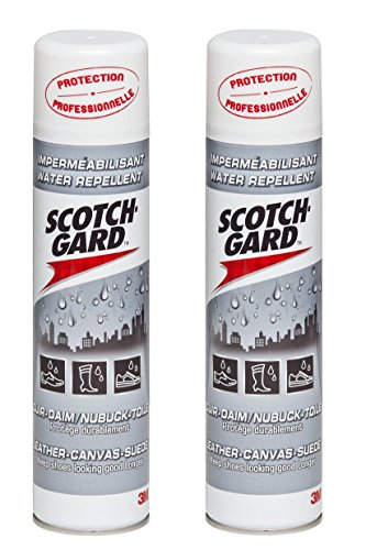 Scotchgard Water Repellent Shoe Protector - 2 Cans - 400 ml