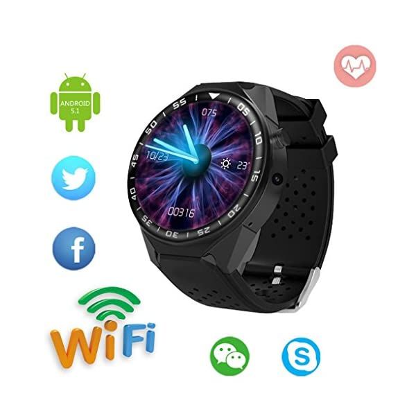 2018 Fitness And Wellness Activity Tracker Smart Wrist Watch U Watch Phone Mate For Android Vneirw ZGPAX S99 C1 Sports WatchHeart Rate MonitorGPSPedometer Smart Watch With BluetoothSim Card