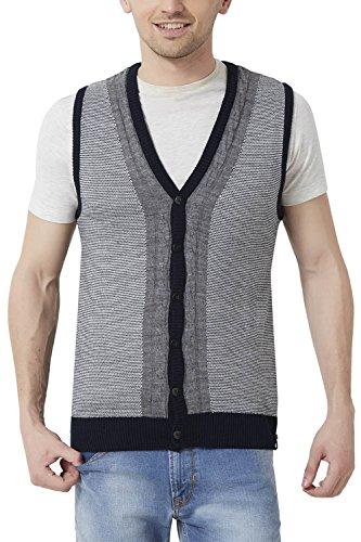 Peter England Men's Regular Fit Sweater_ Psw51500585_m_ Grey
