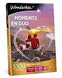 Wonderbox - Coffret cadeau de Noël pour couple - MOMENTS EN DUO - idée cadeau de noel - 3300 activités à partager