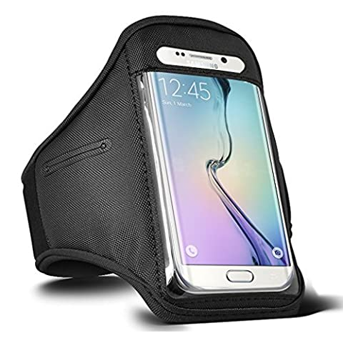 Samsung Galaxy S6 / S6 Edge / S7 Running Sports Armband Gyms Fitness Workout ARM Band Cover Strap