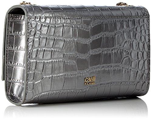 CAVALLI CLASS - Rsvp Couture, Borse a spalla Donna Grigio (Gun Metal)