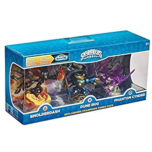 Skylanders Imaginators – Champions Combo Pack (Smolderdash, Dune Bag, Cynder)