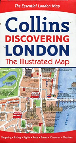 Discovering London Illustrated Map (Maps) (London City Map)