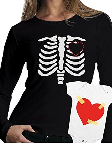 t-shirt manica lunga e body festa della mamma - Cuore di mamma, love -tutte le taglie uomo donna maglietta by tshirteria