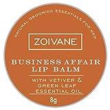 Best Lip Balms For Men - Zoivane Men's Natural Business Affair Lip Balm Review
