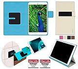 reboon Hülle für Blaupunkt Polaris 808 Tasche Cover Case Bumper | in Beige | Testsieger