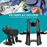 VR-Helm-Halterung für Zubehör, Display-Halterung für VR Oculus Rift S/Oculus Quest, Touchscreen-Controller für Kopfhörer S Oculus Quest