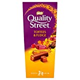 Quality Street Toffee and Fudge Carton, 265g (Pack of 6)