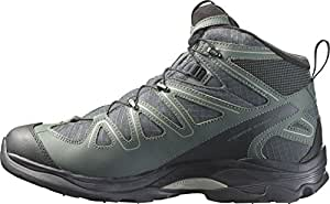 Salomon X Tracks Mid WP Hiking Shoes, Men's UK 12.5 (Black)