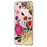 vanki iPhone 6 iPhone 6s Hülle Tasten Fonts Schutzhülle Clear Case Cover Bumper Anti-Scratch TPU Silikon Durchsichtig Handyhülle für iPhone 6 Plus/6s Plus (Apple iPhone 6/6s, Color 10)