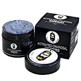 #2: THE GOLDEN BEARD - Activated Charcoal Face Scrub for Dead Skin Cells & Blackheads | Deep Cleansing & Exfoliating - 50GM